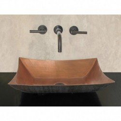 Ferrelo Above Counter Copper Vessel