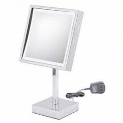 Square Lighted Free Standing Mirror 712