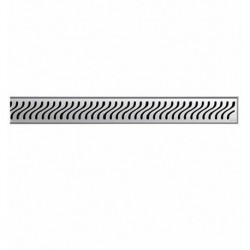 "Quartz by ACO Flag 55.12"" Shower Channel 37417/37296"