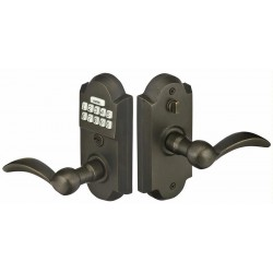 Sandcast Bronze Electronic Keypad Leverset with Storeroom/ Gate Function