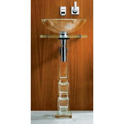 Cubetto Pedestal Sink